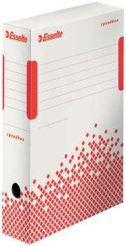 Archivační krabice Esselte Speedbox - bílá, 8 x 35 x 25 cm