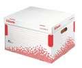 Archivační krabice na pořadače Esselte Speedbox - bílý, 39,2 x 30,1 x 33,4 cm