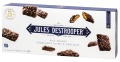 Sušenky s křupinkami Jules Destrooper - čokoládové, 100g