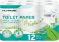Toaletní papír Highmark 4vrstvý, 12 rolí
