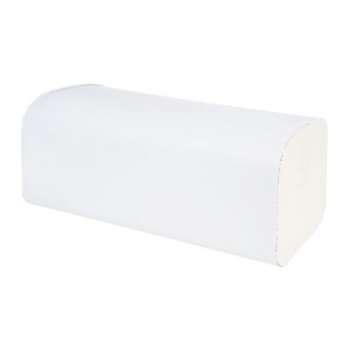 Papírové ručníky - dvouvrstvé, bílé, 150 ks