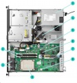 HPE ProLiant DL20 Gen9 /E3-1220v6/8GB/Bez HDD/290W
