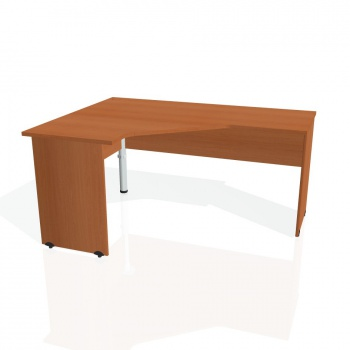 Psací stůl Hobis GATE GEV 60 pravý, třešeň/třešeň