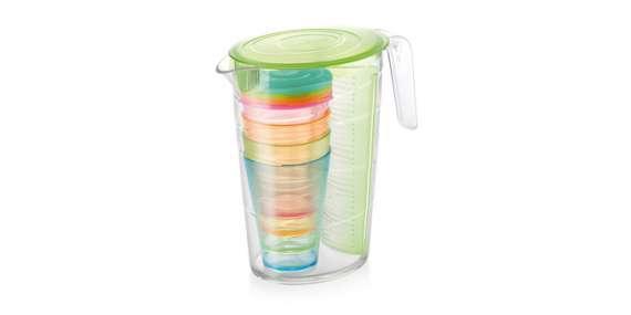 DÁREK: Tescoma džbán myDRINK 2.5l + 4 poháry s víčkem