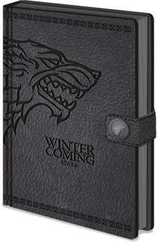 DÁREK: Zápisník - Hra o trůny Stark