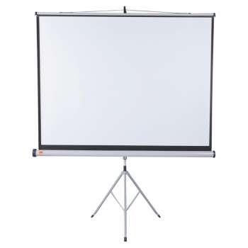 Projekční plátno se stativem Nobo - 170 x 132,5 cm, širokoúhlé 16:10, bílé