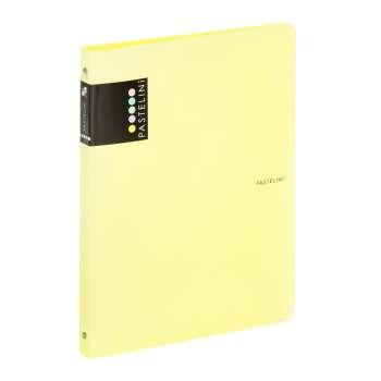 4kroužkový pořadač Pastelini - A4,  šíře hřbetu 2 cm, žlutý
