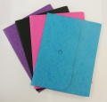 Prešpánová odkládací kapsa na dokumenty A4 - sv. modrá
