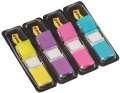 Záložky Post-it v zásobníku - mix 4 barev