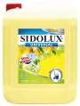 Prostředek na podlahy Sidolux - Fresh lemon, 5 l
