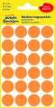 Kulaté etikety Avery Zweckform - neon oranžové, průměr 18 mm, 96 ks