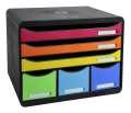 Zásuvkový box Exacompta - 6 zásuvek