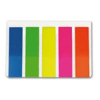 Plastové záložky Office Depot - 5 barev, 5 x 25 ks