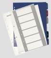 Rejstřík Leitz Style potisknutelný na PC, A4+ MAXI 1-6