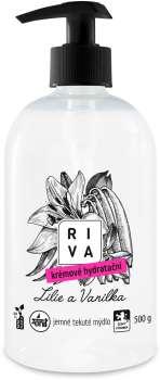 Krémové hydratační mýdlo Riva - lilie, 500 g