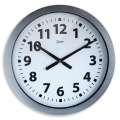 Nástěnné hodiny Monster, stříbrné, 60 cm