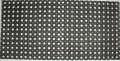 Outdoor rohož, 50 x 100 cm - černá