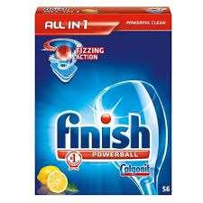 DÁREK: Finish/Calgonit ALL in 1 citron 56 tab.