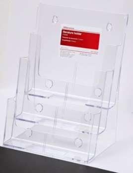 Prezentační stojan na katalogy Office Depot - A4, třípatrový