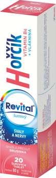 Hořčík + vitamín B6 Revital - brusinka, 20 tablet