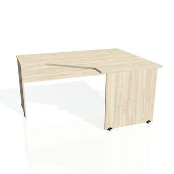 Psací stůl Hobis GATE GEV 80 levý, akát/akát