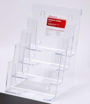Prezentační stojan na katalogy Office Depot - A5, čtyřpatrový