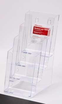 Prezentační stojan na katalogy Office Depot - 1/3 A4, čtyřpatrový