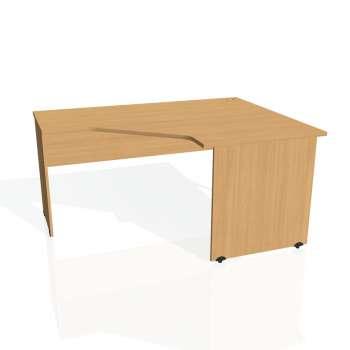 Psací stůl Hobis GATE GEV 80 levý, buk/buk