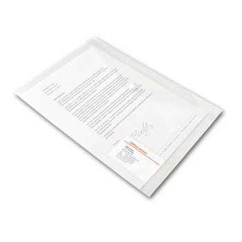 Spisové desky Office Depot - A4 s kapsou na vizitku, čirá, 5 ks