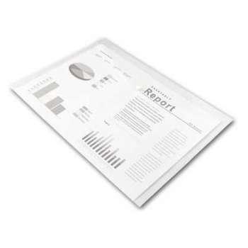 Spisové desky Office Depot - A3, čiré, 5 ks