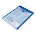 Spisové desky Office Depot - A4 na výšku, transp. modré, 5 ks