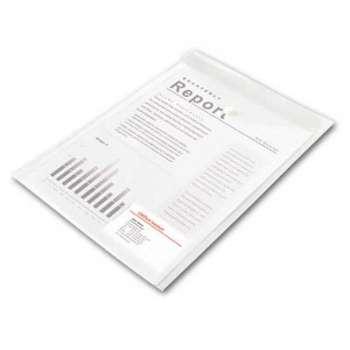 Spisové desky Office Depot - A4 na výšku, čiré, 5 ks