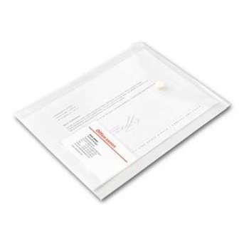 Spisové desky Office Depot - A5 na výšku, čirá, 5 ks