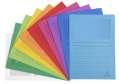 Papírové obaly L s okénkem Exacompta - A4, mix barev, 100 ks