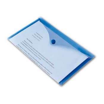 Spisové desky Office Depot - DL, modrá , 5 ks