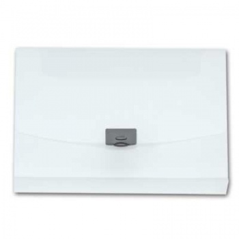Desky na spisy s klipem Office Depot - A4, hřbet 4 cm, čiré