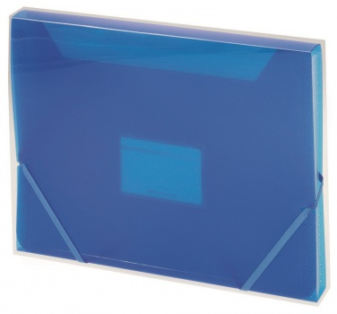 Aktovka Office Depot A4 13 přihrádek, modrá