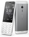 Nokia 230, Dual Sim, stříbrná (A00026951)