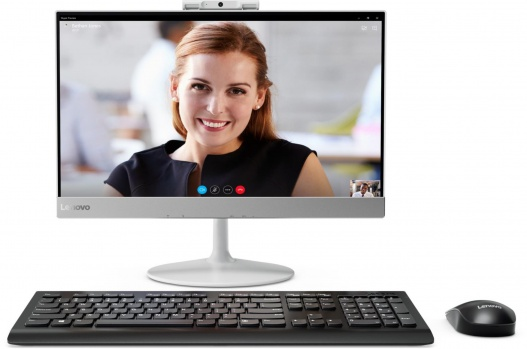 Lenovo V410z, All-in-One PC, bílá (10QW0015MC)
