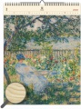 Dřevěný obrazový kalendář 2020 - Impressionism