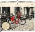 Dřevěný obrazový kalendář 2020 - Bicycle