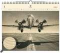 Dřevěný obrazový kalendář 2020 - Airplane