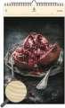 Dřevěný obrazový kalendář 2020 - Food Art