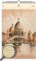 Dřevěný obrazový kalendář 2020 - Venezia II.