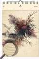 Dřevěný obrazový kalendář 2020 - Feathers