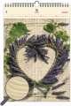 Dřevěný obrazový kalendář 2020 - Heart