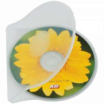 Box na CD/DVD, šedý 1 ks