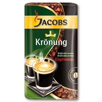 Zrnková kávaJacobs Krönung Espresso zrno - 250g