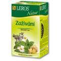 Čaj Leros Bylinný Natur Zažívání - 20 x 1,5 g