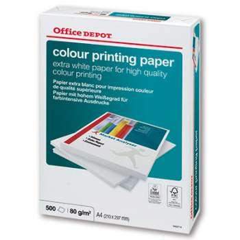 Kancelářský papír Office Depot Colour Printing - A4, 90 g, 500 listů